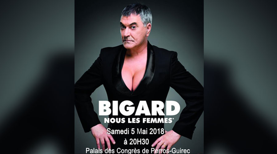 hotel lannion spectacle jean marie bigard